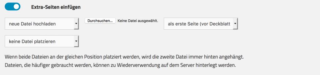 Sammel-PDF Eigene